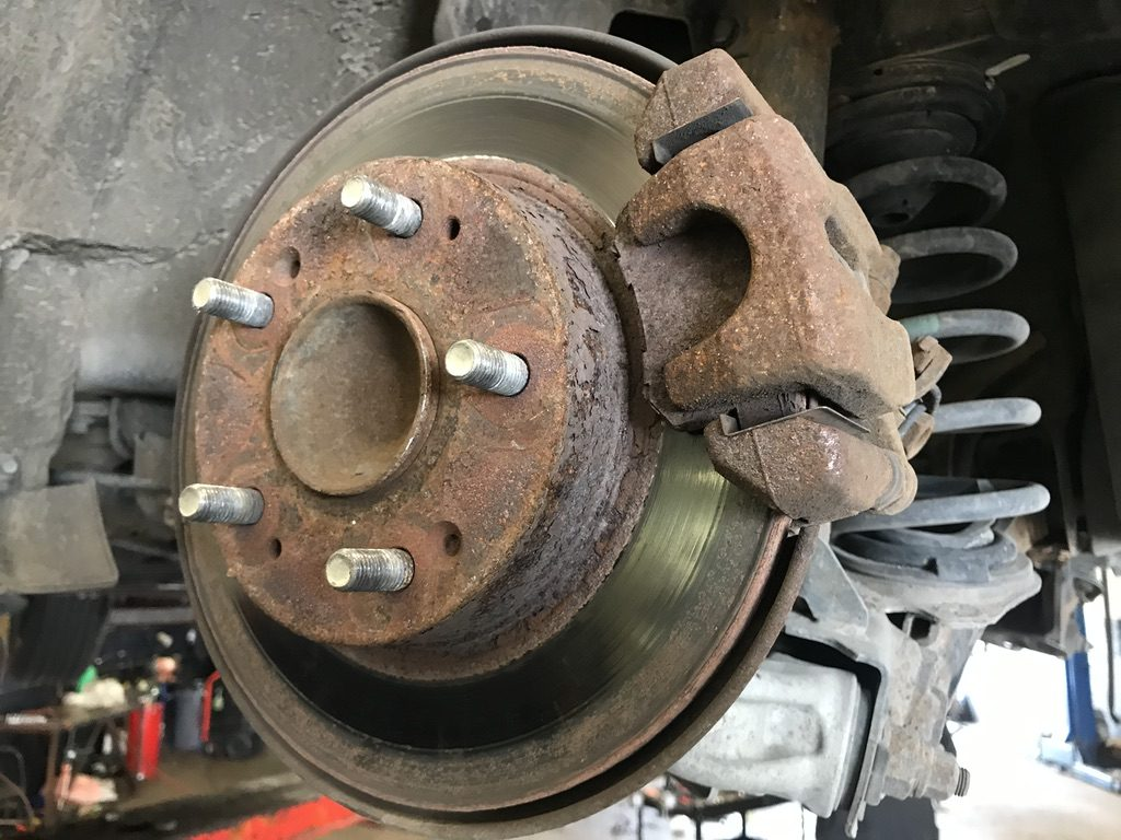 2010 honda accord disc brake replacement